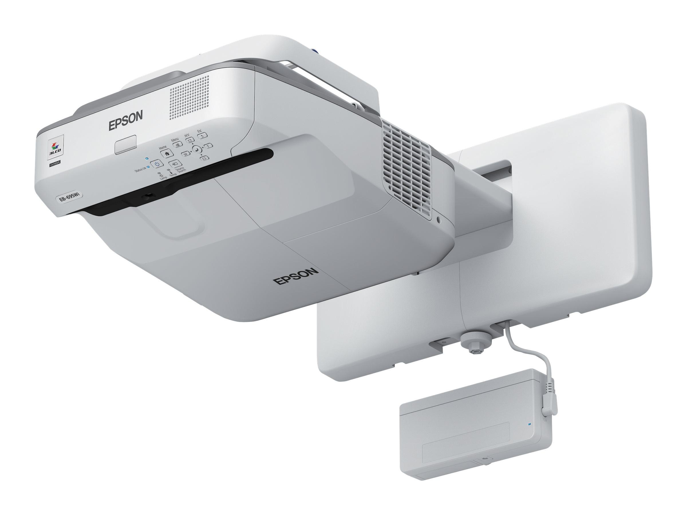 EPSON EB-695WI PROYECTOR LCD 3500 LUMENES WXGA 128