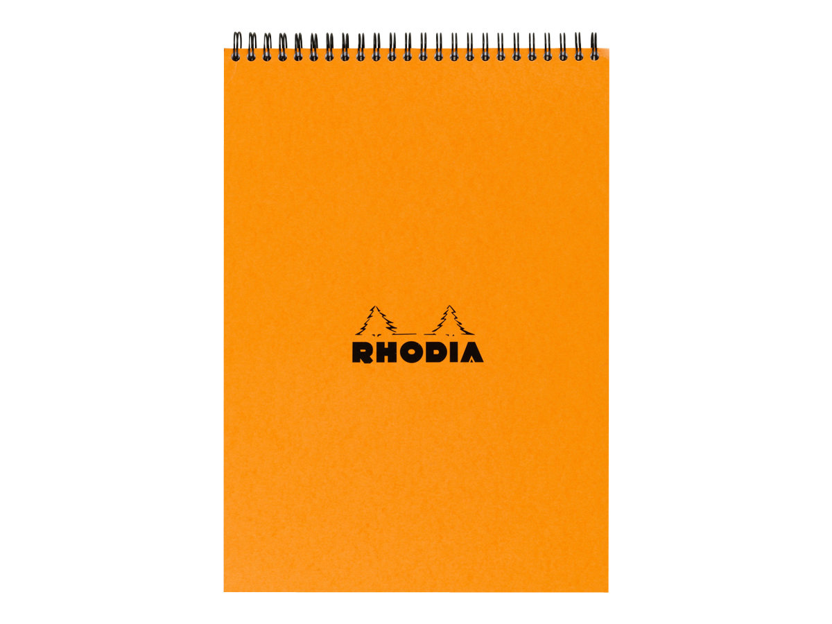 RHODIA CLASSIC SMALL OFFICE - Bloc notes - A4 -  80 pages - quadrillé - 5x5 - spirales