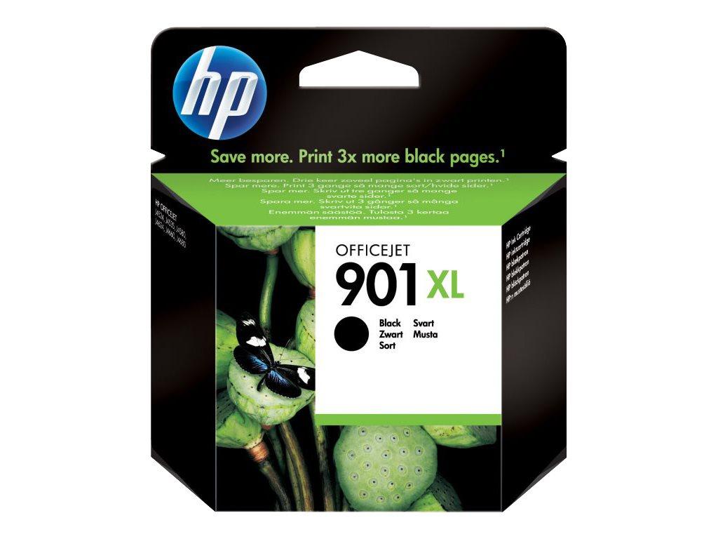 HP 901XL - à rendement élevé - noir - originale - cartouche d'encre