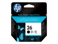 HP Cartucho de tinta Negro (n� 26)51626AE
