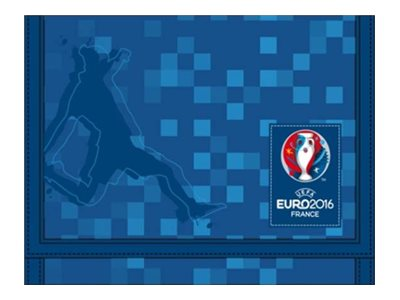 "UEFA EURO 2016 FRANCE Soccer Teens""UEG"" Collection - portefeuille"