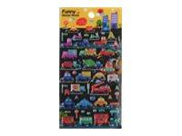Oberthur Funny Sticker World - adhésif décoratif