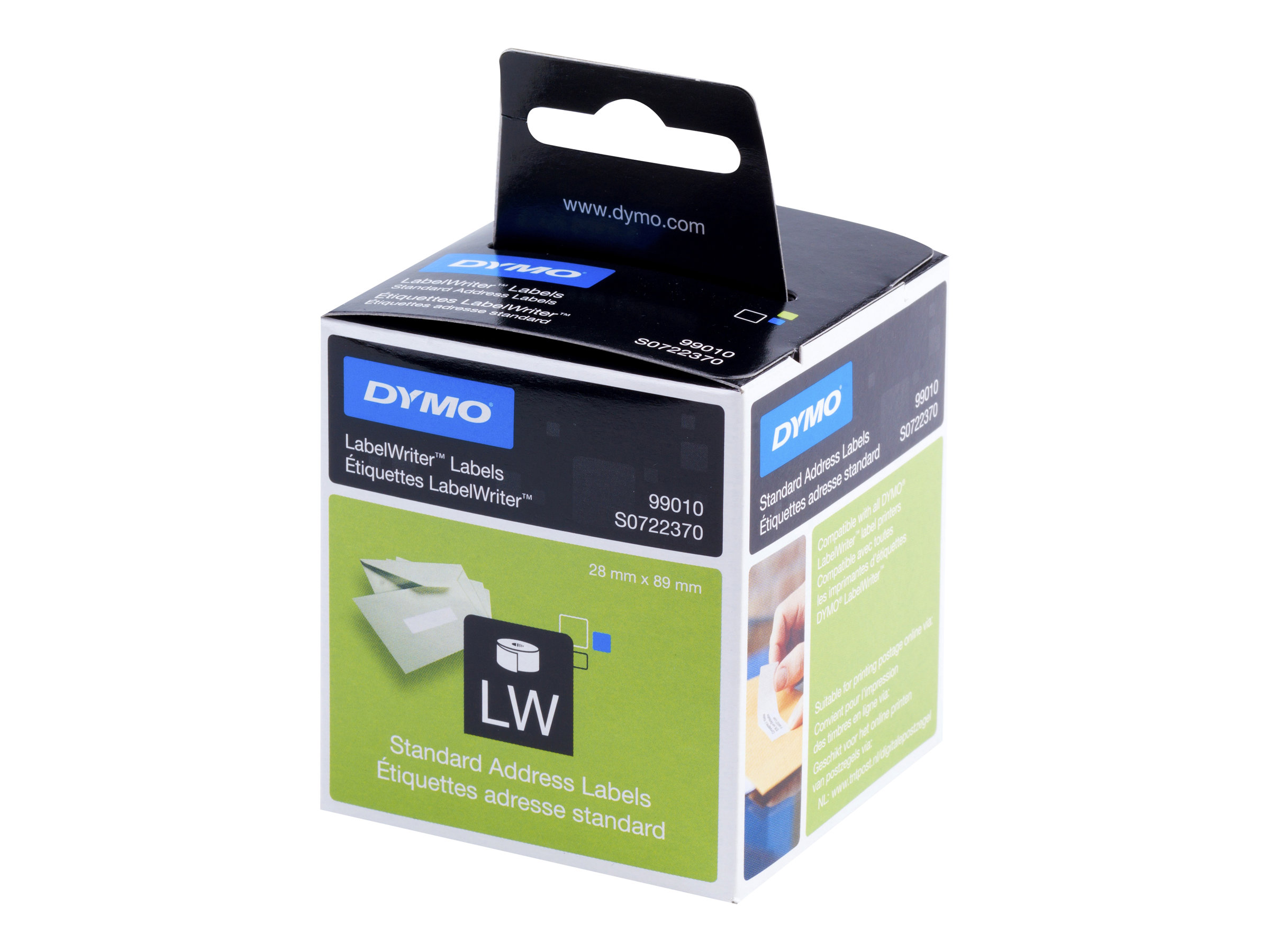 DYMO LabelWriter Address - étiquettes adresses - 260 étiquette(s)