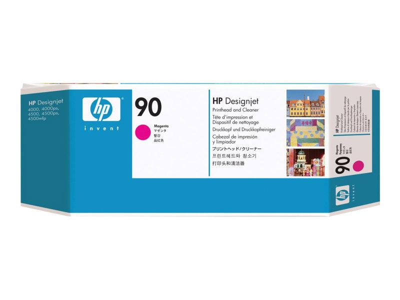 HP 90 - magenta - tête d'impression avec nettoyeur