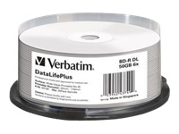 Verbatim DataLifePlus - BD-R DL x 25 - 50 Go - support de stockage