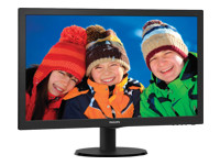 "Philips V-line 243V5LSB LED-skærm 23.6"" 1920 x 1080 Full HD (1080p)"