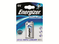 Energizer Ultimate Lithium Batteri 9V Li 1200 mAh