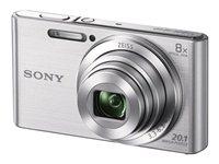 Sony Camara W830 Silver 20.1mp/HD/8xOpt/64xDig./LCD 2.7