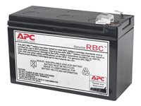 APC Replacement Battery Cartridge #110 - Batería de UPS - 1 x Ácido de plomo