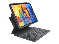 ZAGG Pro Keys - Keyboard and folio case - backlit