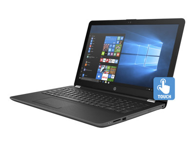 "HP 15-bw030nr - A9 9420 / 3 GHz - Win 10 Home 64-bit - 8 GB RAM - 1 TB HDD - DVD-Writer - 15.6"" touchscreen 1366 x 768 (HD) - Radeon R5 - Wi-Fi, Bluetooth - HP finish in smoke gray with woven texture and ash silver in the strata - kbd: US"