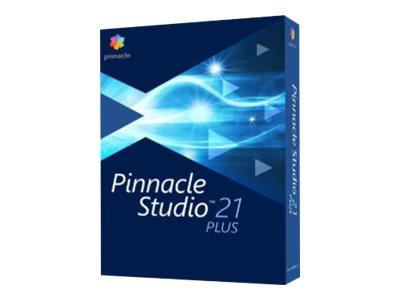 Pinnacle Studio Plus - (v. 21) - box pack - 1 user - Win - English, French