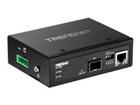 Trendnet Conversor de Medios Industrial 100/1000Base-T a SFP
