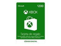Microsoft Xbox Live - Gift Card - (MXN$200)