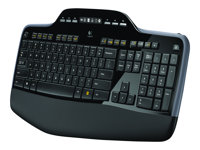 920-002443 - Logitech Wireless Desktop MK710 - Sats med tangentbord och mus  - trådlös - 2.4 GHz - Nordiska länderna 69710bc126ea7