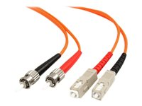 StarTech.com Câble optique FIBSTSC2