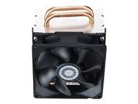 Cooler Master Hyper Hyper T2 - Disipador para procesador - (para: LGA775, LGA1156, AM2, AM2+, AM3, LGA1155, AM3+, FM1, FM2, LGA1150, FM2+, AM1, LGA1151)