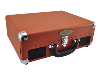 PyleHome Vintage Classic Style PVTTBT6BR - Turntable - brown