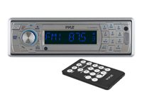 PYLE PLCD5MRBTS - Marine - CD receiver - in-dash - Full-DIN - 60 Watts x 4
