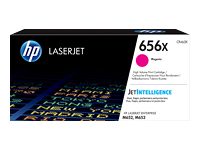 HP 656X - High Yield - magenta - original - LaserJet - toner cartridge (CF463X) - for Color LaserJet Enterprise M652dn, M652n, M653dh, M653dn, M653x