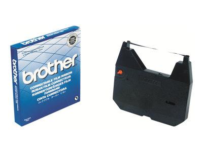 Brother - negro - casete con cinta de impresión