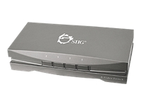 SIIG 4x1 Composite/S-Video & Audio Switch