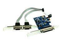 Approx APPPCIE1P2S paralelo/serie PCI-E- Controladora
