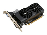MSI N750TI-2GD5TLP carte graphique - GF GTX 750 Ti - 2 Go