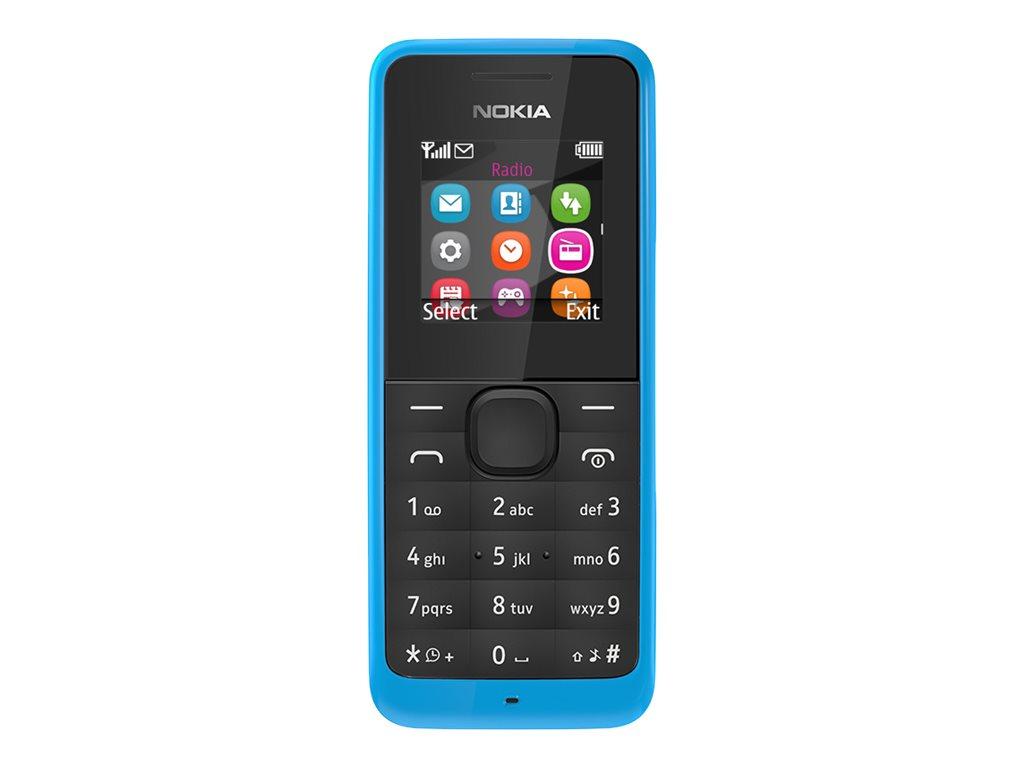 NOKIA 105 TELEFONO MOVIL GSM 128 X 128 PIXELES TFT