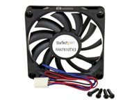 StarTech.com Ventilateur PC à Double Roulement à Billes - Alimentation TX3 - 70 mm