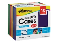 Memorex mini DVD Cases