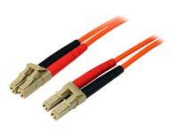 STARTECH - CABLE StarTech.com Multimode 50/125 Duplex Fiber Patch Cable LC50FIBLCLC1