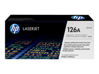 HP 126A - Black, color (cyan, magenta, yellow) - original