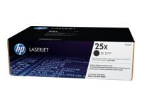 HP 25X - à rendement élevé - noir - originale - LaserJet - cartouche de toner ( CF325X )
