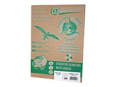 QRT Graphique Définition ETIQUETTES Ecologique - étiquettes adhésives - 2400 étiquette(s)