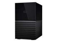 WD My Book Duo WDBFBE0040JBK Harddisk-array 4 TB 2 bays HDD 2 TB x 2