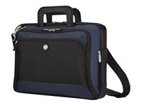 Targus HP Evolution Lite Notebook Case - Notebook carrying case - black, azure blue - for HP 425, 610, 620; EliteBook 8440; EliteBook Folio 9470; ProBook 4310, 45XX, 5310, 6555