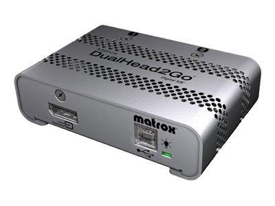 Matrox Graphics eXpansion Module DualHead2Go - Digital ME - nástroj pro převod videa - DisplayPort, VGA