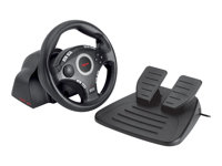TRUST  Compact Vibration Feedback Steering Wheel PC-PS2-PS3 GM-320016064
