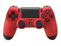Sony Dual Shock 4 Game pad trådløs Bluetooth magma (rød)