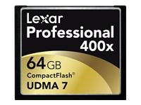 Lexar Professional UDMA - carte mémoire flash - 64 Go - CompactFlash