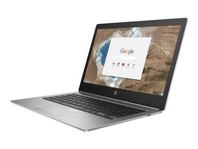 "HP Chromebook 13 G1 - Core m3 6Y30 / 900 MHz - Chrome OS - 4 GB RAM - 32 GB eMMC - 13.3"" IPS 3200 x 1800 (QHD+) - HD Graphics 515 - Wi-Fi, Bluetooth - kbd: US"