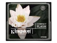 Kingston M�moires Compact Flash CF/4GB
