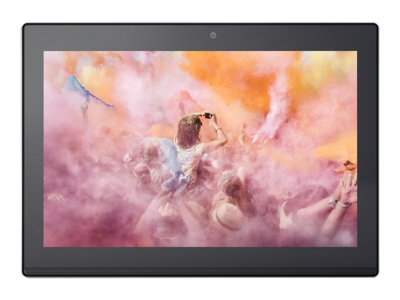 "Lenovo Miix 320-10ICR 80XF - Tablet - Atom x5 Z8350 / 1.44 GHz - Win 10 Pro 64-bit - 4 GB RAM - 128 GB eMMC - 10.1"" touchscreen 1920 x 1200 - HD Graphics 400 - Wi-Fi, Bluetooth - platinum silver"