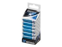 tecxus Micro Batteri 24 x AAA type Alkalisk