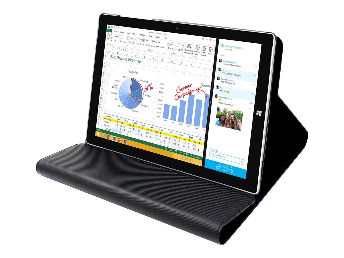 Muvit - Protection à rabat pour tablette pour Microsoft Surface 3 - noir