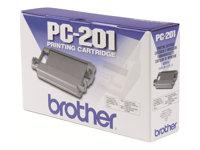 Brother Cartucho de tinta y bobina para FaxPC-201
