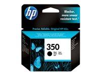 HP 350 Black Inkjet Cartridge with Vivera Ink, HP 350 Black Ink