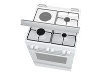 03.Cuisinière Vitrocéramique Vue de droite