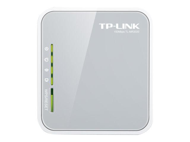 Image of TP-LINK TL-MR3020 - wireless router - 802.11b/g/n - desktop